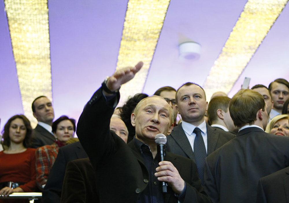 Putin Denounces Rivals Accusing Him of Fraud
